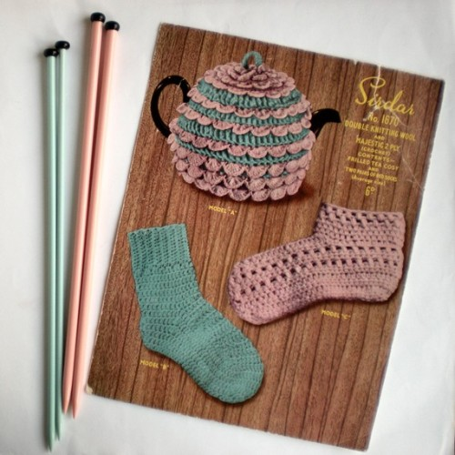 Tea cozy and socks via