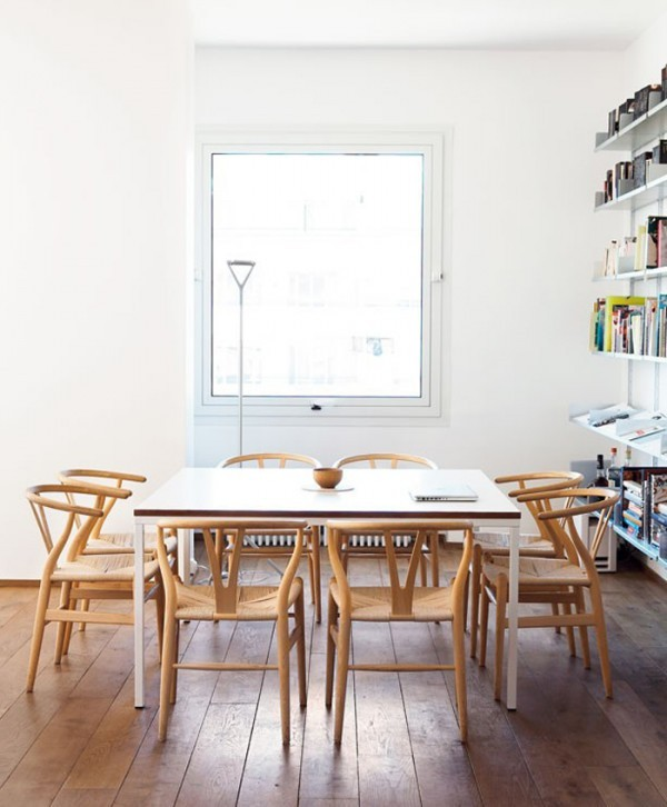 archiphile:  dining rooms: home of johanna ekmark and albert hini, a mix of swedish and french interiordisplayed on archiphile | facebook | twitter
