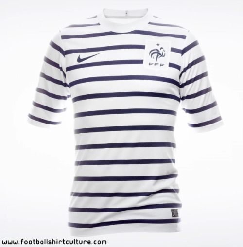 totally buying the France Away shirt…