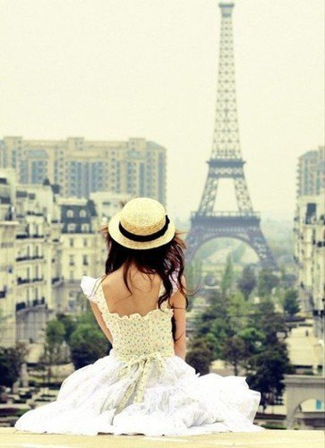 Someday I'll be in PARIS <3<3
