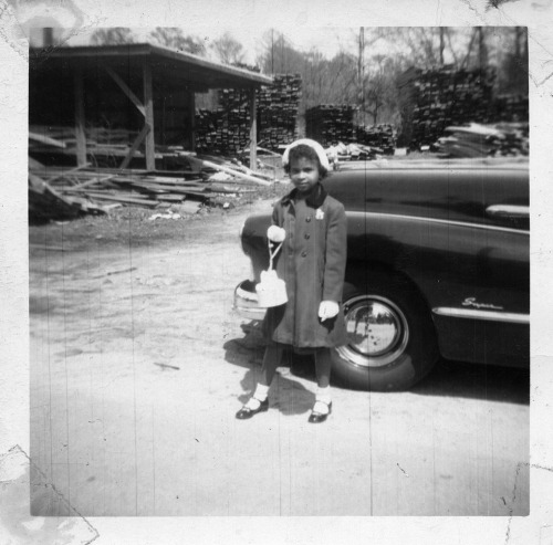 Easter Pose [Nichols Family Album, 1920's-70's] ©WaheedPhotoArchive, 2011