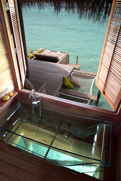 archiphile:   homedesigning: Six Senses Resort, Maldives  see more bathrooms here!displayed on archiphile | facebook | twitter