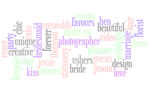 Jessie Thomson, Cotswold based Wedding & event Planner
