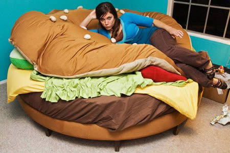 is it absoultley disgusting that i want this bed?  yes.  do i care? NOPE