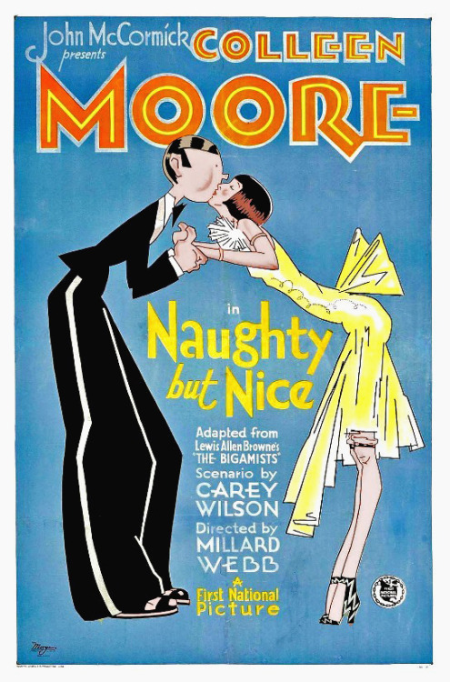 theloudestvoice:  Naughty But Nice, 1927