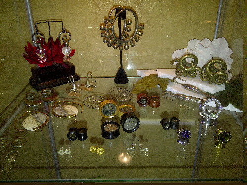 Brass, silver, hanging, steam punk, bling, plugs, eyelets, weights… No matter what you're into we got it… May Madness is NOW! All three HTC Body Piercing studios in Arizona are running $10 piercings and 20% off all jewelry until next Sunday! Check out HTCAZ.COM for details about the sale and I.D. policies… I will be at our North Phoenix location this Sunday and next Sunday working counter with J.D. in the piercing department, then next Friday and Saturday I will be doing the same at our Uptown location with Marilyn! Come see us! We got what you need!