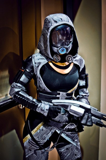 Mass Effect Week (Day 3):  Tali'Zorah nar Rayya / vas Neema / vas Normandy from Mass Effect / Mass Effect 2