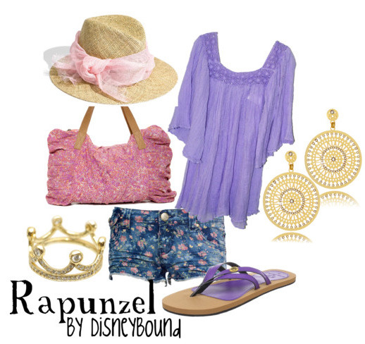 A casual Rapunzel by request :)