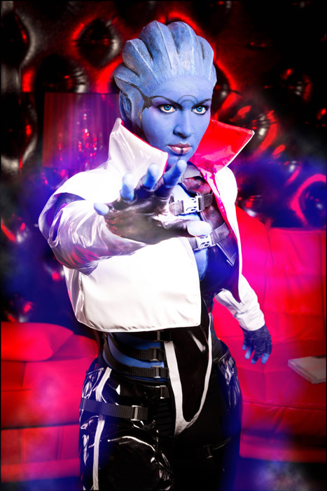 Mass Effect Week (Day 6):  Aria T'Loak from Mass Effect 2