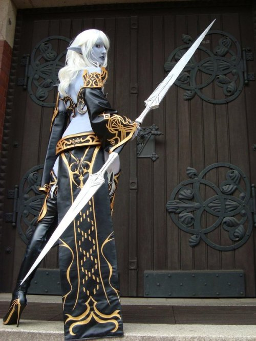 Dark Elf VI by black—-butterfly Via: fuckyeahdrow