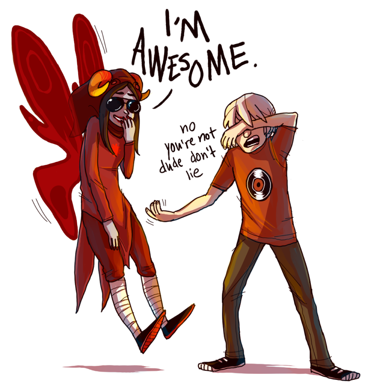 paobangboom:  anonymous requested aradia being awesome!! hehehe B)