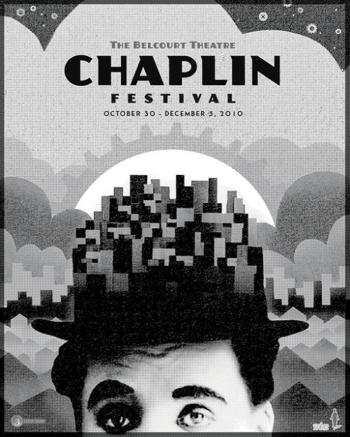 Chaplin Festival screenprint | Sam's Myth
