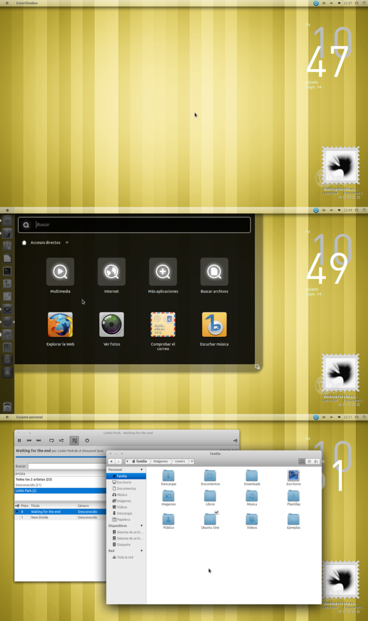 Another Unity desktop (by ~DavidOteroNavarro)