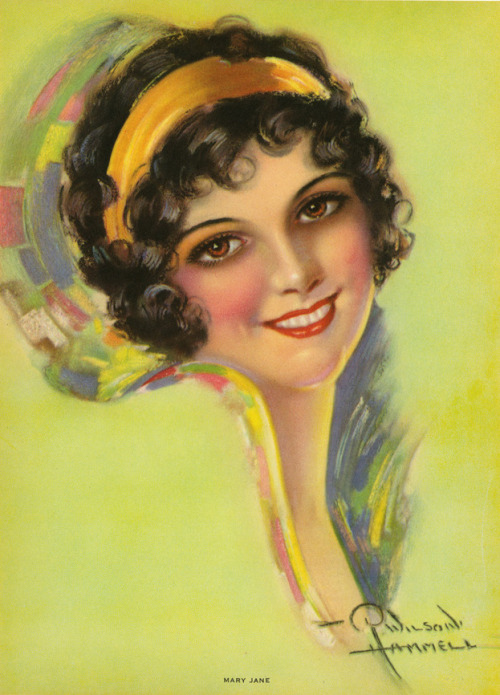 """Mary Jane"" by R. Wilson Hammell 1930's"