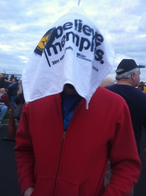 This is me at the Grizzlies homecoming at Wilson Airport.