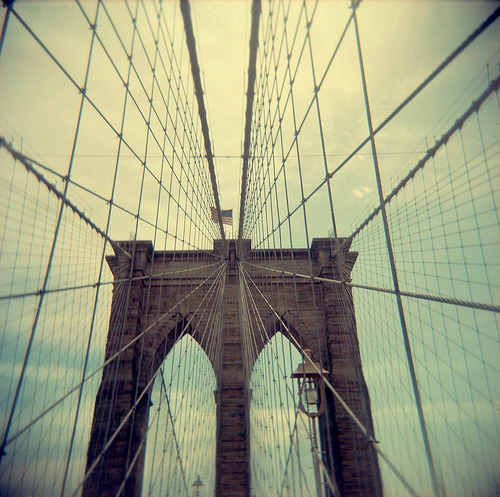 littleaiko:  brooklyn bridge (by Hey it's steph!)