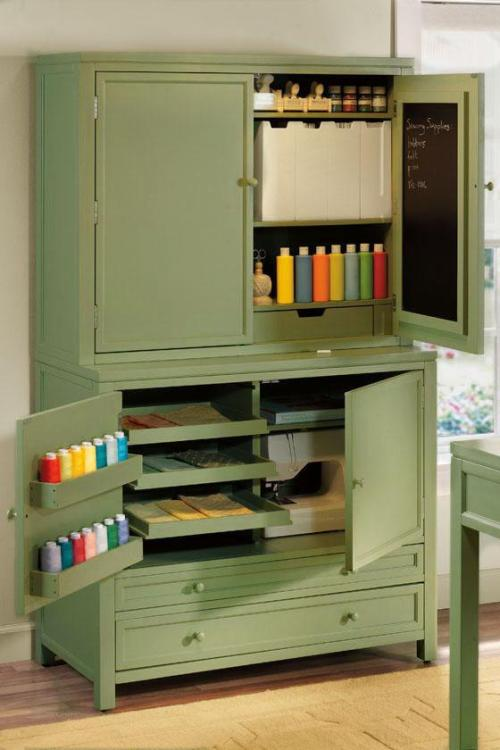 (via Martha Stewart Living™ Craft Space Storage Cabinet - Craft Tables - Martha Stewart Living™ Craft Furniture - Martha Stewart Living™ | HomeDecorators.com)