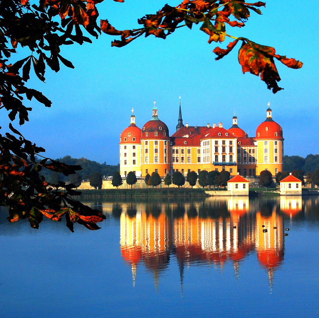 Moritzburg, Saxony, Germany By Hans Vaupel