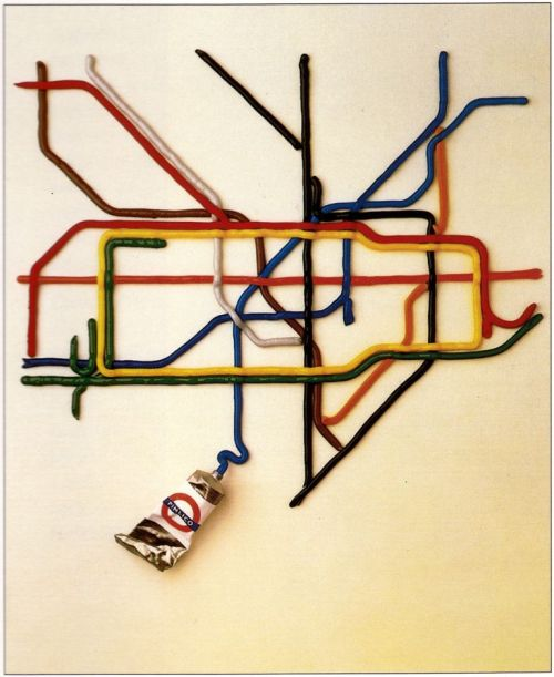 the tate by tube - david booth