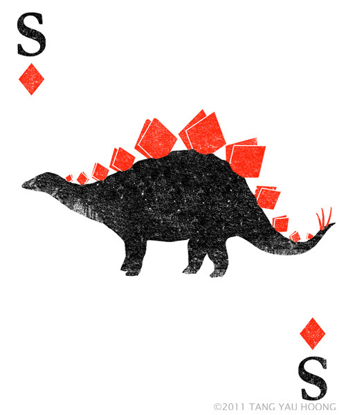 Stegosaurus of Diamonds on Flickr.Follow me on: facebook / tumblr / twitter