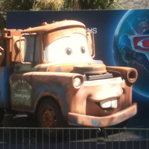 Forget Cheryl Cole… Mater is in #cannes too! (Taken with instagram)