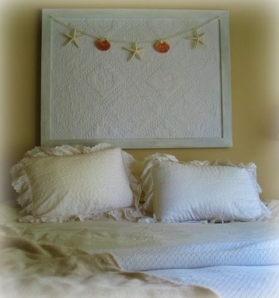 DIY Serene Cottage Bedroom via http://www.sallyleebythesea.com/