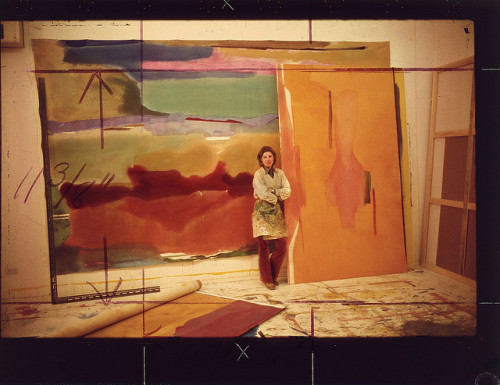 Frankenthaler, Helen (1928- ) in 1975 by Alexander Liberman by RasMarley on Flickr.