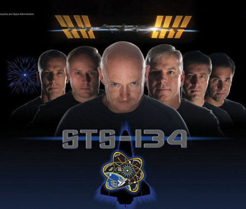 Endeavour crew recreates 'Star Trek' film posterIt's a tradition for shuttle and space station astronauts to make mission posters based on popular films.