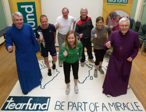 Northern Irish church leaders invite you to 'See for yourself' On 2nd May, a team of Northern Irish church leaders* ran the Belfast Marathon Relay to highlight how churches are transforming communities in Ethiopia. The church leaders included Bishop Harold Miller, former Presbyterian Moderator Rev. Stafford Carson, former Methodist President Rev. Ken Todd and Windsor Baptist Pastor Dave Dunlop. The church leaders were running to support a Tearfund programme to enable 300 Ethiopian churches to set up small businesses and savings schemes holistically benefiting over 70,000 people.  One of these people is Thhuy, a mother of 5, who was lifted out of extreme poverty when she received a £30 loan to set up a bakery. Now, she can feed her children properly, has the dignity of running her own business and has experienced God's love though the kindness of local Christians. 'At Easter we remember that Jesus came to bring new life - physically, emotionally, intellectually, culturally, socially and spiritually' says Rev. Ken Todd. 'I was really pleased to do this run just after Easter to help local churches bring new life to thousands of people like Thhuy' 'See for yourself' launch in Northern Ireland At a reception after the marathon, I was delighted to launch 'See for yourself', a brand new initiative which allows supporters like you to follow one village and see how the local church is transforming it.  If you sign up, you simply choose one community in Uganda, Peru or Nepal to follow and we'll send you a monthly email update and a film every three months. Over time, we hope that this initiative will inspire and challenge you, whilst also enabling you to prayerfully and practically support local churches as they reach out into their communities.  'Our run highlighted how local churches are bringing help and hope to thousands of people living in poor communities around the world' says Rev. Stafford Carson. 'I'd invite you to see for yourself how this is happening and help Tearfund achieve its amazing ten-year vision of lifting 50 million people out of material and spiritual poverty through a world wide network of 100,000 local churches'. You can see for yourself how local churches are transforming communities here  Thanks for all your support Tim Tim MagowanNorthern Ireland Director, Tearfund * Church leaders from Right to left : Rev. David McClay, New Wine Ireland; David Dunlop, Pastor of Windsor Baptist; Rev. Ken Todd, former Methodist President; Beth Laverty, 24/7 Prayer Ireland; Rev. Stafford Carson, former Presbyterian Moderator; Ruth Cooke, Tearfund and Bishop Harold Miller, Tearfund Vice President. Photo Credit : Derek Hall