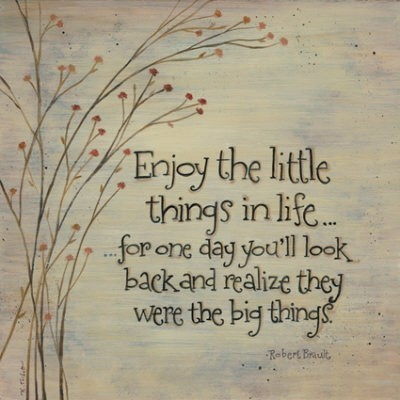 sayingimages:  Enjoy the little things in life… FOLLOW SAYING IMAGES FOR MORE INSPIRED IMAGES & QUOTES