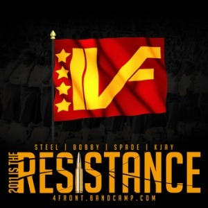 "New 4 Front beat tape ""The Resistance"" click the cover to take a listen.  -4FBG-"