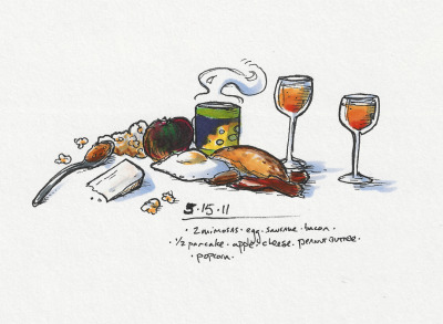 5/15/11 Not hungry. #brunch #doodlediet