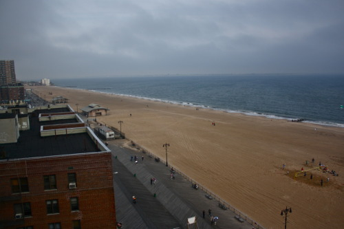 Another shot of Brighton Beach and the boardwalk.