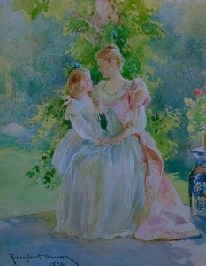 Watercolor, 1892 by Rosina Sherwood Emmet