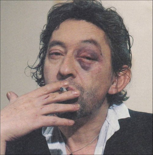 Serge Gainsbourg has got the blues