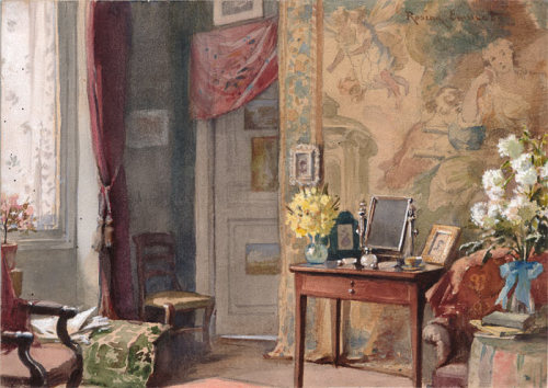 At Home, Rosina Sherwood Emmet