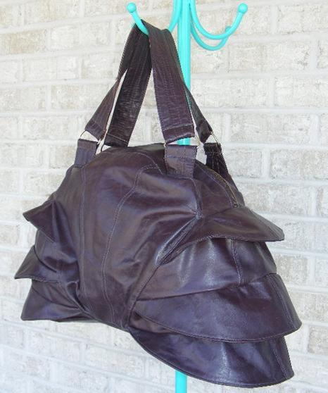 the armadillo bag- get it before it's gone. http://www.etsy.com/listing/74213252/armadillo-leather-bag