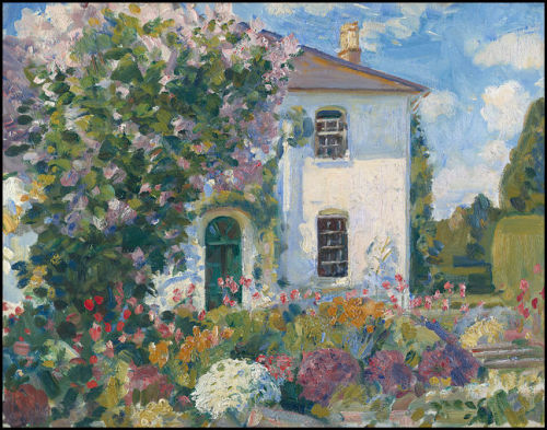 The Artists' Home at Stratford, Tony Wiltshire,  UK, Wilfrid de Glehn Married to Jane Erin Emmet de Glehn