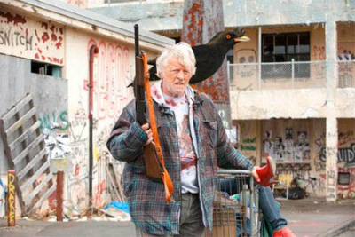 Hobo With a Shotgun (With a Bird On It)