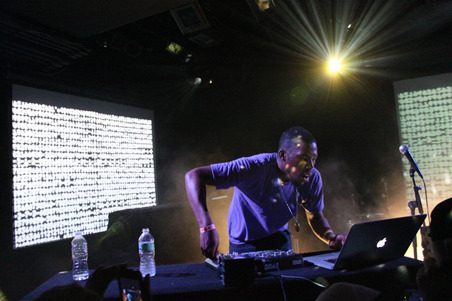 "Flying Lotus to Remix Radiohead? via Pitchfork  Radiohead frontman Thom Yorke and free-spirited Los Angeles bass music star Flying Lotus have something of a mutual appreciation society going. Yorke appeared on a track on FlyLo's Cosmogramma album, and he has showed up twice to DJ alongside FlyLo at L.A.'s Low End Theory club night. Flying Lotus remixed Radiohead's ""Reckoner"". And now the Radiohead fan site Radiohead at Ease points out that Flying Lotus said in an interview with the Colorado Springs Independent that he's toying around with a remix of ""the new Radiohead record.""  More here - but i'm interested!"