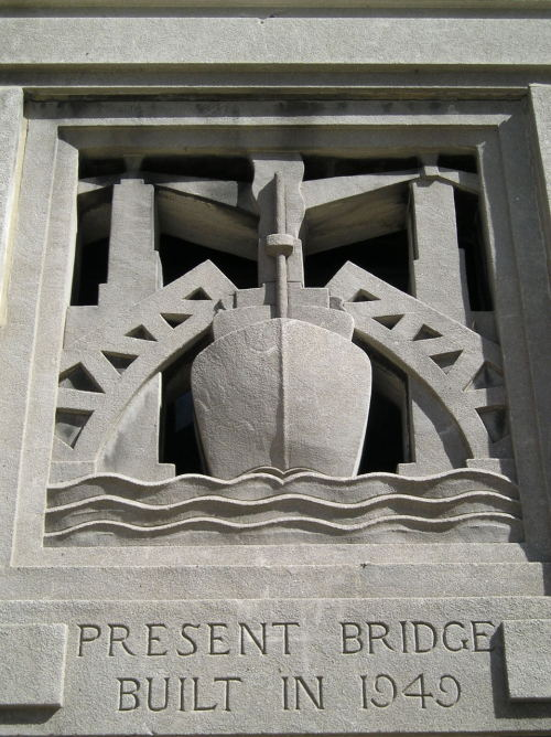 Bridge Detail, Chicago, Illinoisby hecestmoi Deco detail on one of Downtown Chicago's bridges.