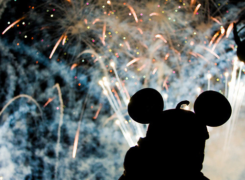 Let the Memories Begin!   disneyafterdark:  Reflections of a head :) (by nickel.media)