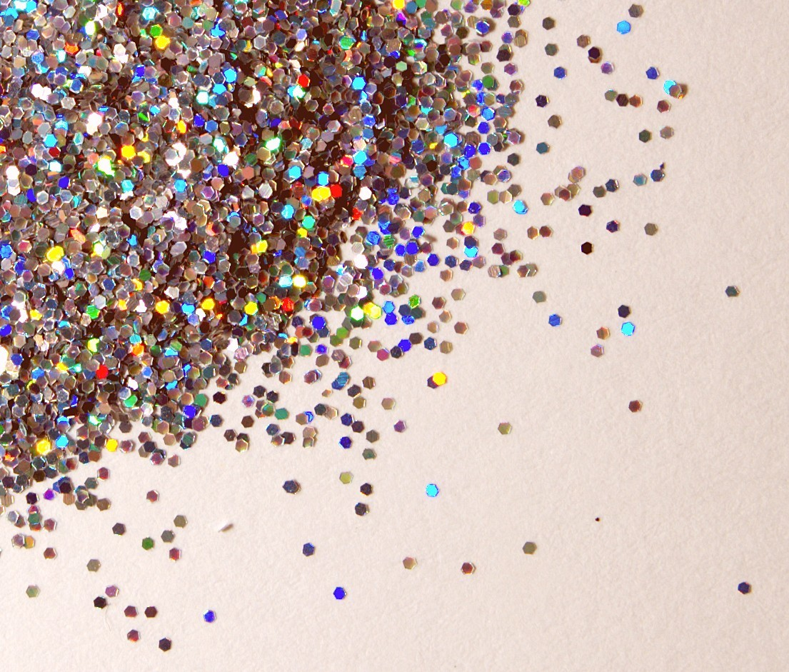 D.I.Y. Homemade Glitter!  There is always a time, place, and need for glitter! Why make a trip to the craft store when you can just make it at home?  Steps: Preheat the oven to 350. Place salt (table salt/sea salt) into a small bowl. Add drop of food coloring and mix with the salt. Spread mixture onto a baking sheet in one layer. Bake in oven for 10 minutes. Let cool, then transfer into a storage container for use.