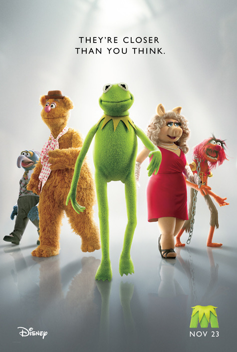 comicbooks:  Exclusive Poster Debut - 'The Muppets'! (Fandango)