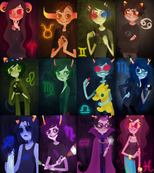 askradicalgoodspeed:  kaymurph:  damnit Karkat you're messing up the rainbow   but its ok