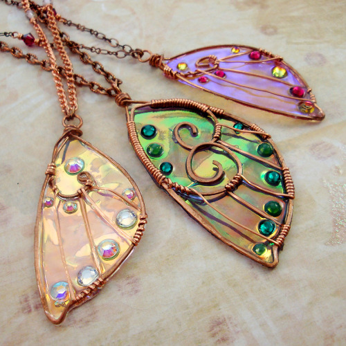 sihayadesigns:  New Sidhe Wings by Sihaya Designs Jewelry!