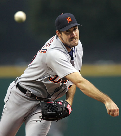 In Justin Verlander's last combined 3 starts he had a stretch of 50 batters without giving up a hit. That's like almost throwing 2 straight no hitters…. but it's okay, he'll be just happy with his one no hitter this season.