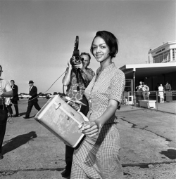 "sexisbeautiful:  coolchicksfromhistory:  Freedom Rider and student leader Lucretia Collins, 1961. Lucretia Collins was a senior at Tennessee A&I when she decided to take part in the Freedom Rides.  She was one of the few Freedom Riders who opted to be bailed out, although several other riders were also seniors in college.  She received her degree the day after this photo was taken.   Lucretia moved to Ghana in the mid-60s and by 1969 had ""ceased to believe in non-violence as a tactic or anything else.""  The first Freedom Rider ladies were so bad ass. Only two of them amongst a bunch of dudes, if I recall correctly. So brave. So fucking admirable. And all that followed them were amazingly brave as well."