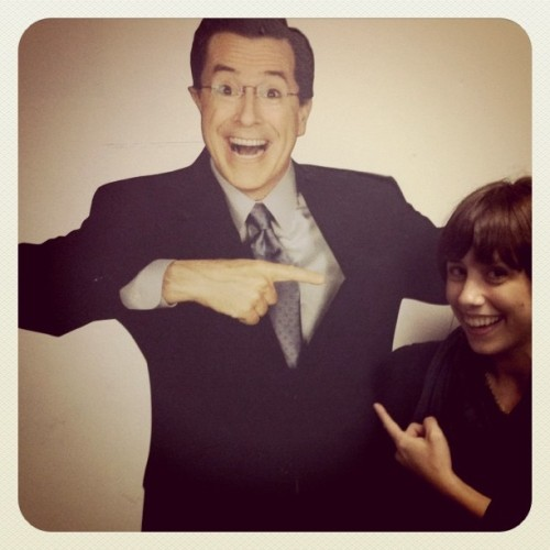 Taken with Instagram at The Colbert Report