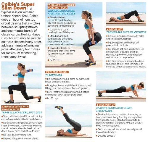 15-Minute Exercise.